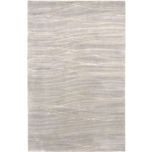 13 Classic Stratum Cobblestone Gray Wool Area Throw Rug