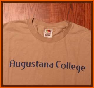 Augustana Vikings NCAA Fruit Of The Loom T Shirt L