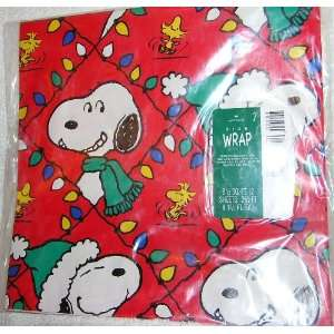Hallmark Peanuts Snoopy and Woodstock Christmas Wrapping