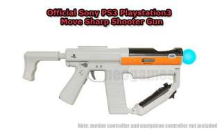 NEW* Official Playstation3 PS3 Move Sharp Shooter Gun 711719810001