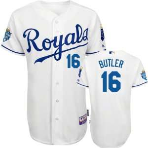 Kansas City Royals Authentic Billy Butler Home Cool Base Jersey w/2012
