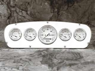 65 66 Ford Custom Cab Billet Aluminum Gauge Panel Dash Insert