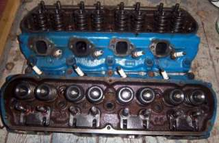 64 65 66 FORD MUSTANG V8 289 FOMOCO ORIGINAL CYLINDER HEADS SMALL