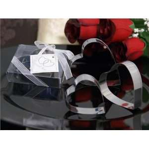 25 Heart Cookie Cutters Gift Box Wedding Bridal Favors