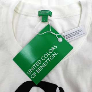 United Colors of Benetton T shirt Large BRAND NEW.