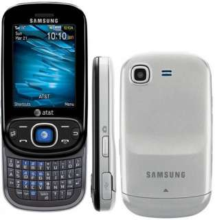 UNLOCKED NEW Samsung SGH A687 Strive Black 3G Cell Phone