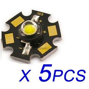 pcs New 3W High Power white Led Lamp Prolight Star