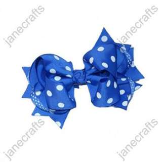 Trendy Big Spike Baby/Girl/Toddler Hair Bows hairbows 24PCS MANY
