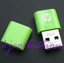 HP 4GB 4G USB Flash Pen Drive Mini Nano v240g Green