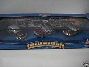 HOT WHEELS LOWRIDER MAGAZINE CAR SET SCALE 164 MIB