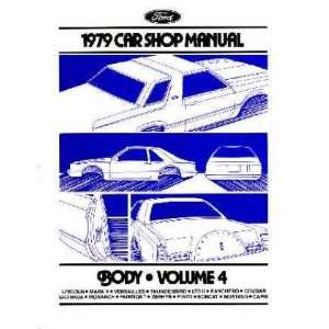 1979 MERCURY COUGAR GRAND MARQUIS etc Service Manual Automotive