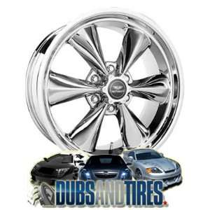 20 Inch 20x8.5 American Racing wheels wheels TORQ THRUST ST Chrome