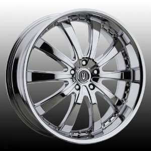 Versante VE219C 24x9.5 Chrysler Dodge Wheels Rims Chrome