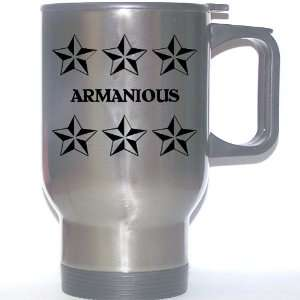 Personal Name Gift   ARMANIOUS Stainless Steel Mug
