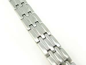 Men Stainless Steel Magnetic Bracelet ( Variations )