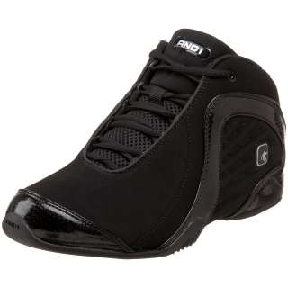 AND1 ROCKET 2.0 Youth Boys Black Mid Basketball Comfort Sneaker D1018B