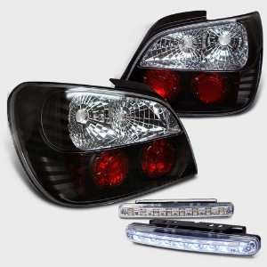 Eautolight 02 03 Impreza WRX STI Tail Lights+led Bumper