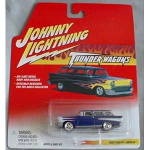 Johnny Lightning Thunder Wagons 1957 Chevy Nomad Toys & Games