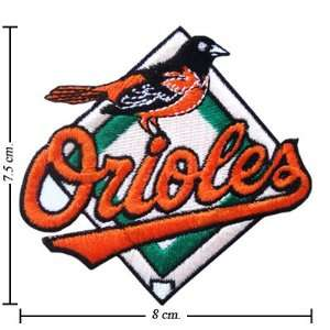 Baltimore Orioles Logo Iron On Patches