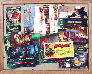 1996 Topps Mars Attacks Widevision Trading Card Set