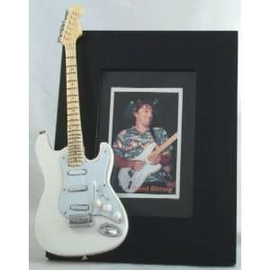David Gilmour Pink Floyd Picture Frame with Miniature