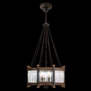 584440ST Eaton Place 8 Light Pendant in Rustic Iron