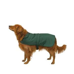 Polyester Fleece Barn Dog Coat, Medium, Hunter Green