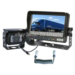 HORSE TRAILER REAR VIEW BACK UP REVERSE CAMERA RV SYSTEM 7 LCD