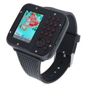 Dual SIM Card Quad Band Touch Screen Mobile Phone Watch