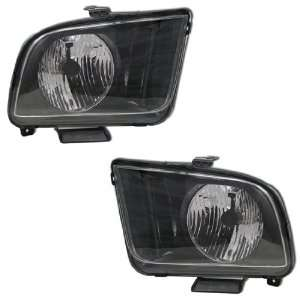 05 09 FORD MUSTANG OEM STYLE HEADLIGHTS Automotive