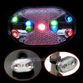New 9 Super Bright Led Bicycle Bike Cycling Rear Tail light Lamp