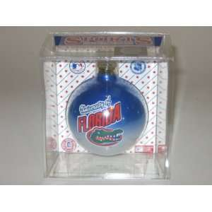FLORIDA GATORS (2 5/8 In Diameter) Multi Color CHRISTMAS