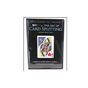 Card Splitting with Marty Grams DVD   Card Magic Tricks Toys & Games