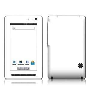 Solid State White Design Protective Decal Skin Sticker for