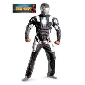 Disguise 11729DI STD Mens Classic Muscle Iron Man 2 War
