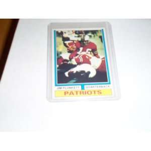 Jim Plunkett 1974 topps football trading card #435 New
