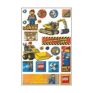 Epoxy Stickers   Lego   City Construction/Phrase Arts