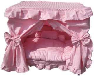 Pink Princess Pet Dog Cat handmade bed house S,M