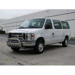 Ford E150/E250/E350 HD Van 2008 2011 Stainless Steel Black