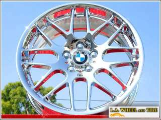BMW E46/M3 Competition 19 inch OEM Chrome wheels rims
