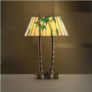 Tiffany Art Glass Creations Table Lamp