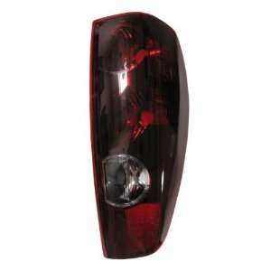 Passengers Taillight Taillamp Lens Housing SAE DOT Pickup Automotive