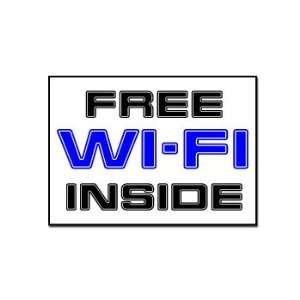 Free Wi Fi Inside   Business Sign   Car, Truck, Notebook, Vinyl Decal