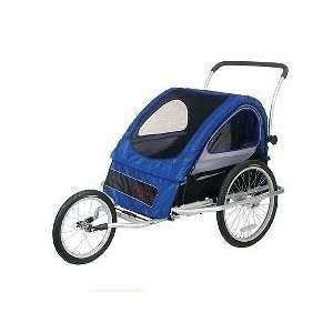 Schwinn MARK 3 Aluminum Bike Trailer   Blue/Black Health