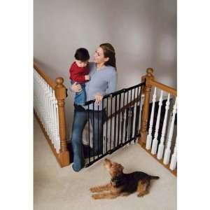 Safeway Wall Mount Stair Top Gate Angle Mount Black 28