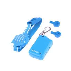 Blue Fish Wristband Anti Lost Alarm Safety Security For Baby Pet Purse