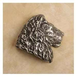 Anne At Home Cabinet Hardware 823 Lion Head Rt Knob Pewter