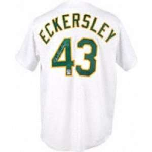 Dennis Eckersley Signed Uniform   Autographed MLB Jerseys