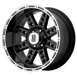 20x12 KMC XD Diesel (Gloss Black) Wheels/Rims 8x170 (XD76621287344)