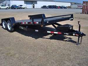 HYDRAULIC TILT CAR hauler Down To Earth TRAILER power up n down